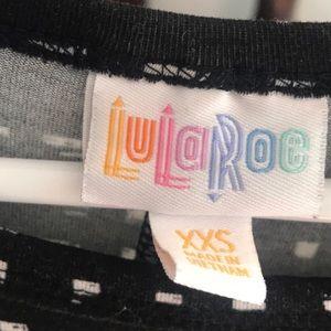 LuLaRoe Dresses - LuLaRoe Carly Tunic Dress (black and cream)